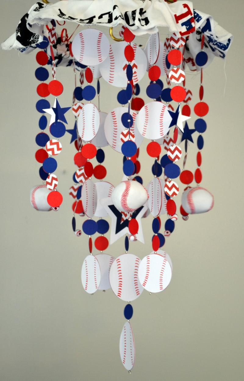 Sports Baseball Crib Mobile Nursery Decor Baby By