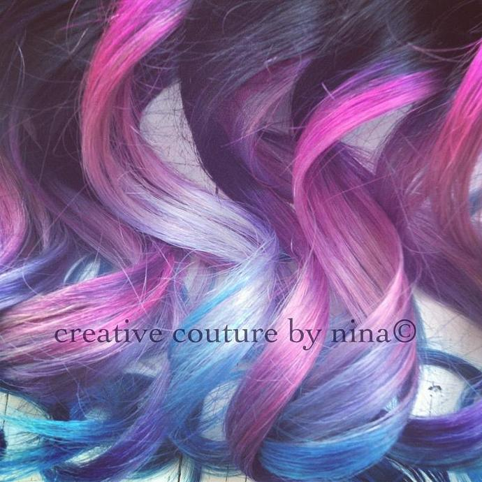 Ombre Hairtie Dye Hair Black Hair Ombrehairextensions