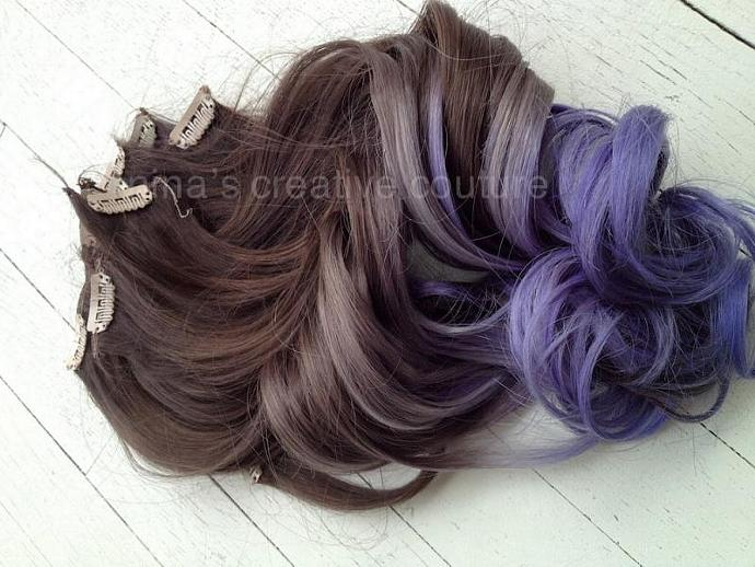 Tape Or Clip In Ombre Hair By Ombrehairextensions On Zibbet
