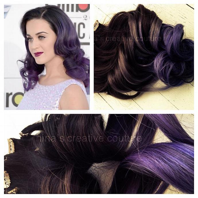 Ombre Hair Extensionskaty Perry Dark Ombrehairextensions