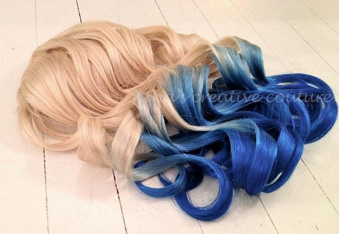 Mermaid Hairombre Hair By Ombrehairextensions On Zibbet