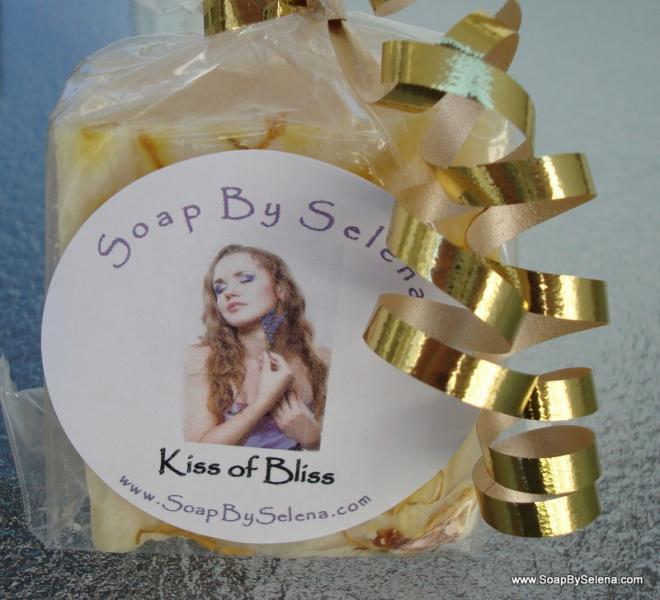 Kiss of Bliss - Luxurious Shea Butter Soap