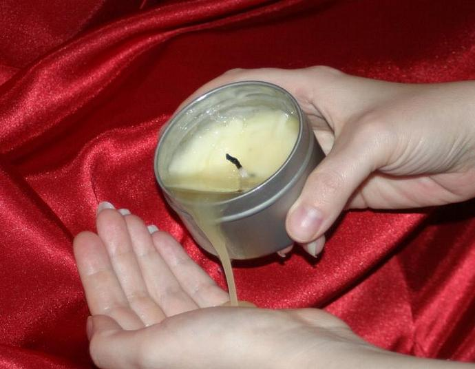 Massage Candle-Luxurious Strawberries And Cream