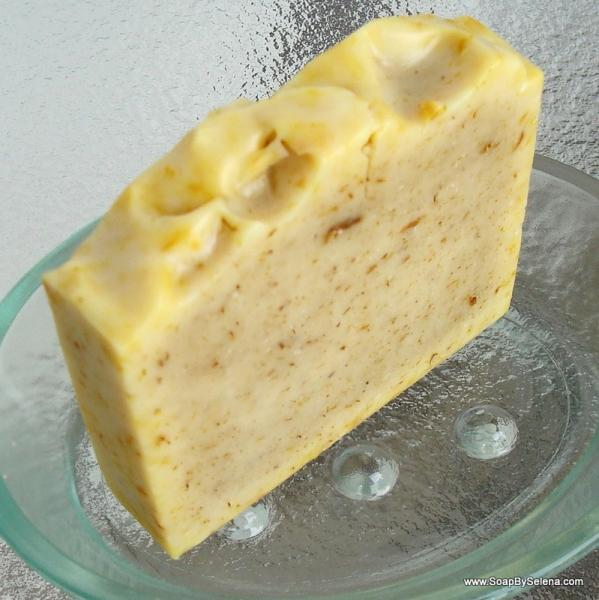 Skin Soothing Calendula Soap for Sensitive Skin