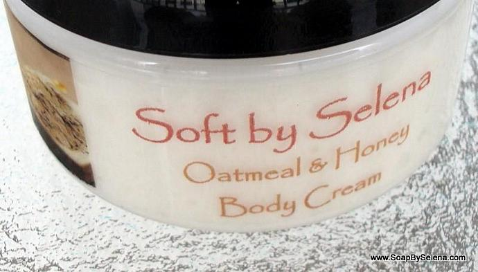 Luxurious Body Cream - Oatmeal and Honey