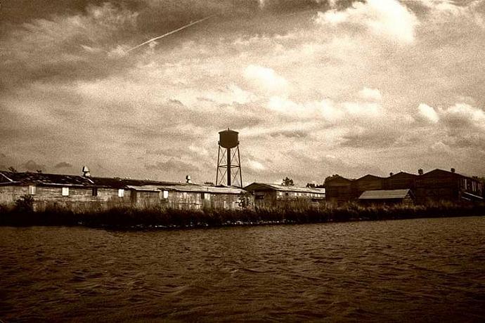 Historical Photo  of Matthews Boatyard Port Clinton Ohio