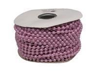 lt purple  4mm pearls 3 yards