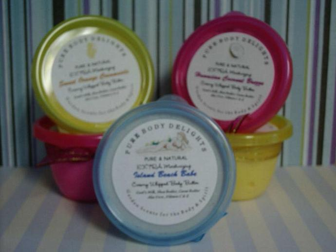Creamy Whipped Body Butter Mousse Delights---Islan