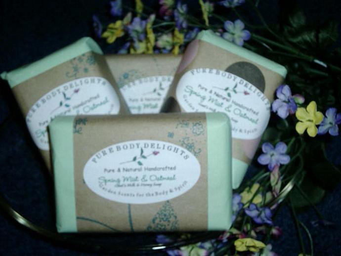 Lucky Girl --SPECIAL Pure Body Delights Soap--Spri