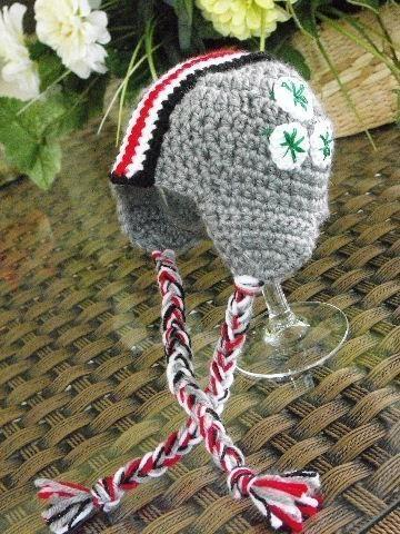 POPULAR SCARLET AND GREY HELMET HAT FOR CHILD 18 T