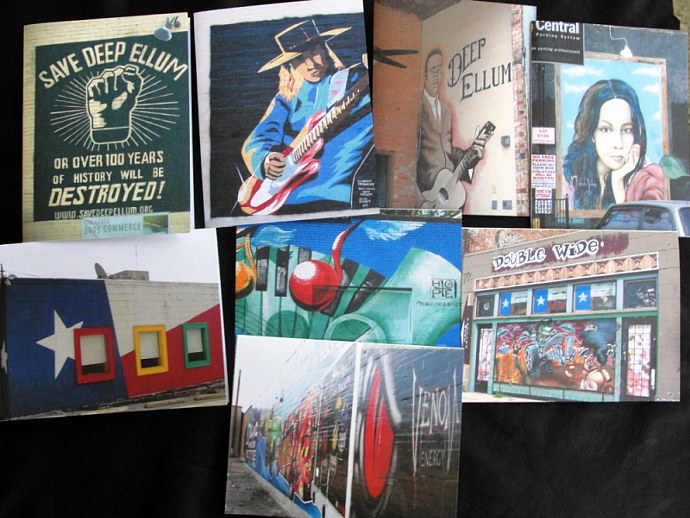 Deep Ellum Note Card Set - Dallas Texas