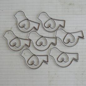 SALE! NEW! Maya Road Metal Vintage Trinket Paper Clips  Little Birdies