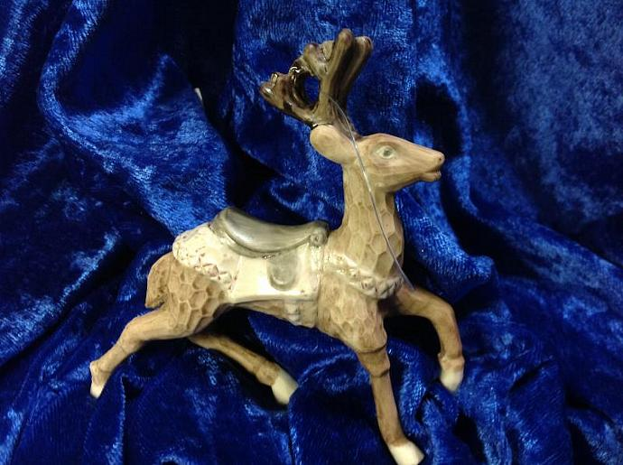 CHRISTMAS REINDEER  ORNAMENT   750-006