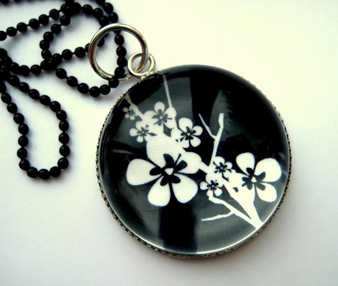 Cherry Blossom - A Little Bubble Pendant