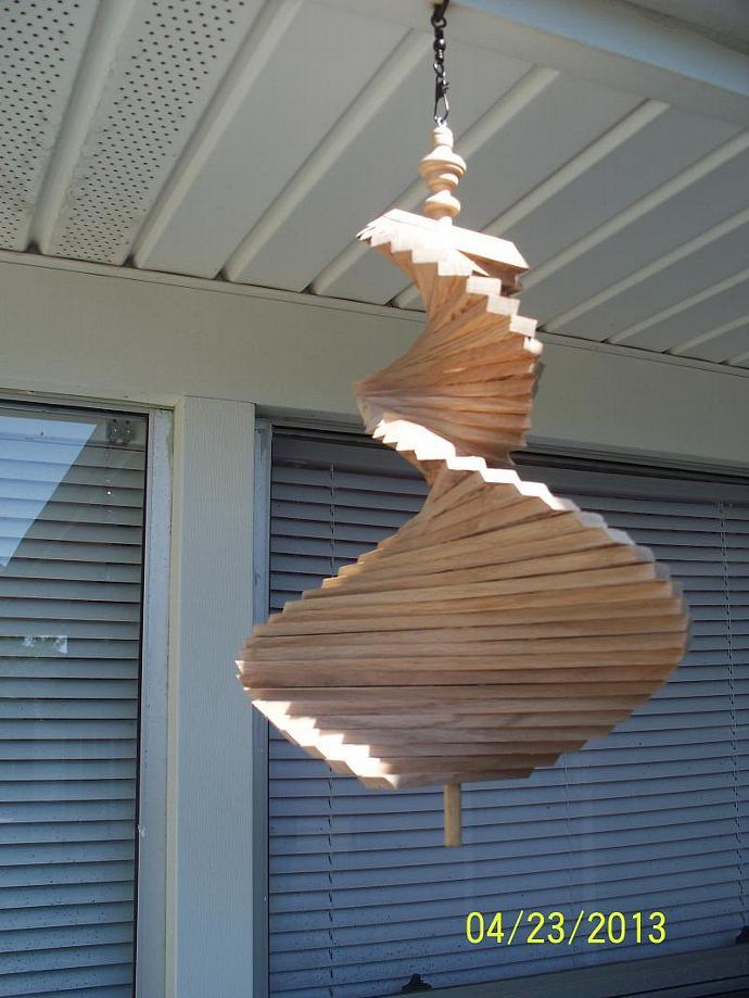 the red oak wind spinner