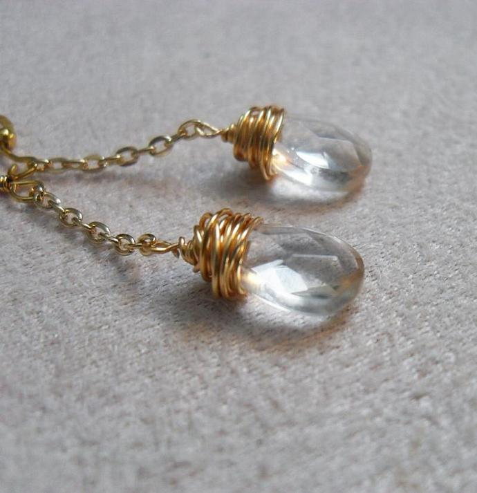 Raindrop Earrings - Long
