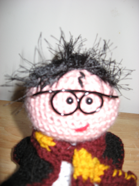 Amigurumi Harry Potter