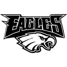 philadelphia eagles vinyl decal set of 2 for by decalsplus Phila Eagles Logo Philadelphia Eagles Logo Clip Art