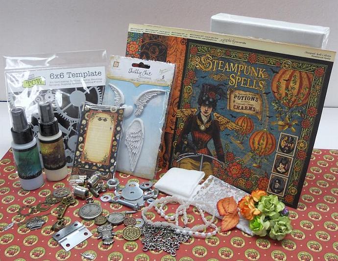 Steampunk Canvas Kits