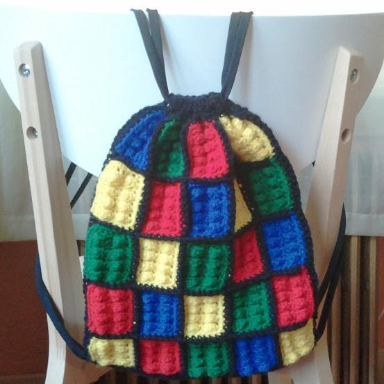 Lego Inspired Backpack - Special order it!