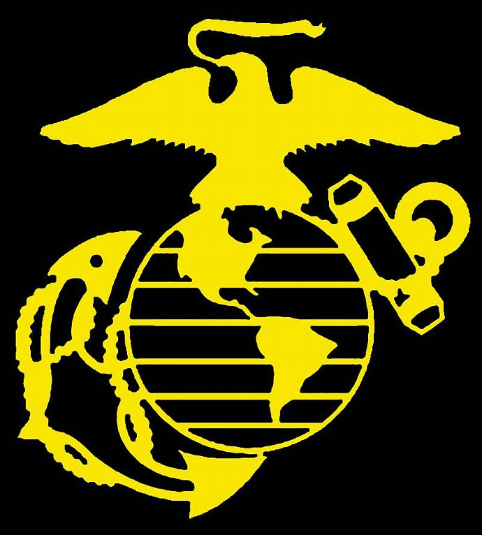 K & COMPANY US Marines Marine Corps Scrapbook Memory 11 Pc Stickers  Military USA