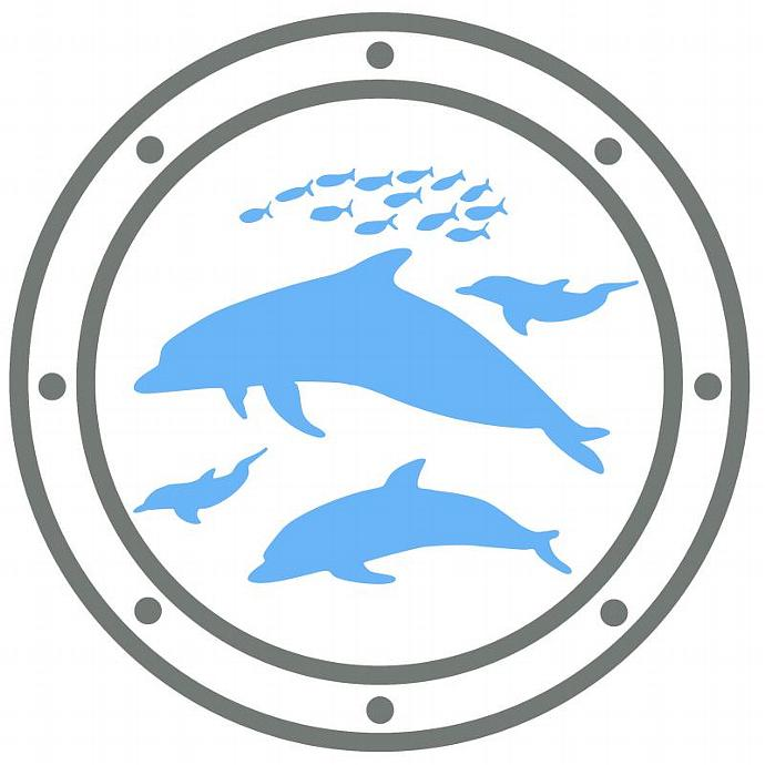 2 ColorToilet Tattoo Vinyl Decal for Your Toilet Tank Portal to the Fish