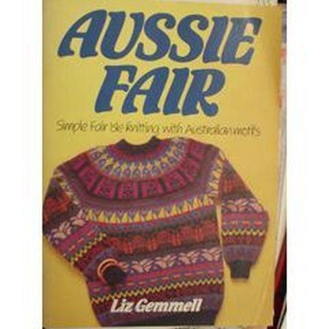 Aussie Fair Simple Fair Isle Knitting With By Vickisdestash On Zibbet