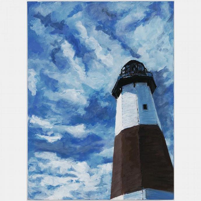 The Montauk Lighthouse, A September Landscape