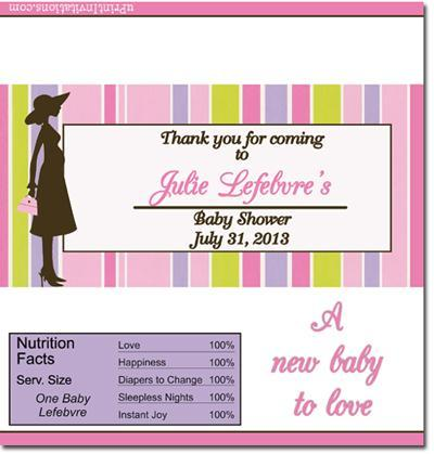 Baby Shower Candy Bar Wrappers **DOWNLOAD JPG IMMEDIATELY**