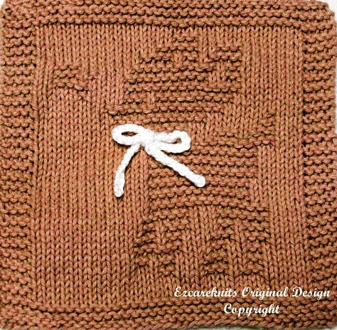 Knitting Cloth Pattern - FANCY FAWN -