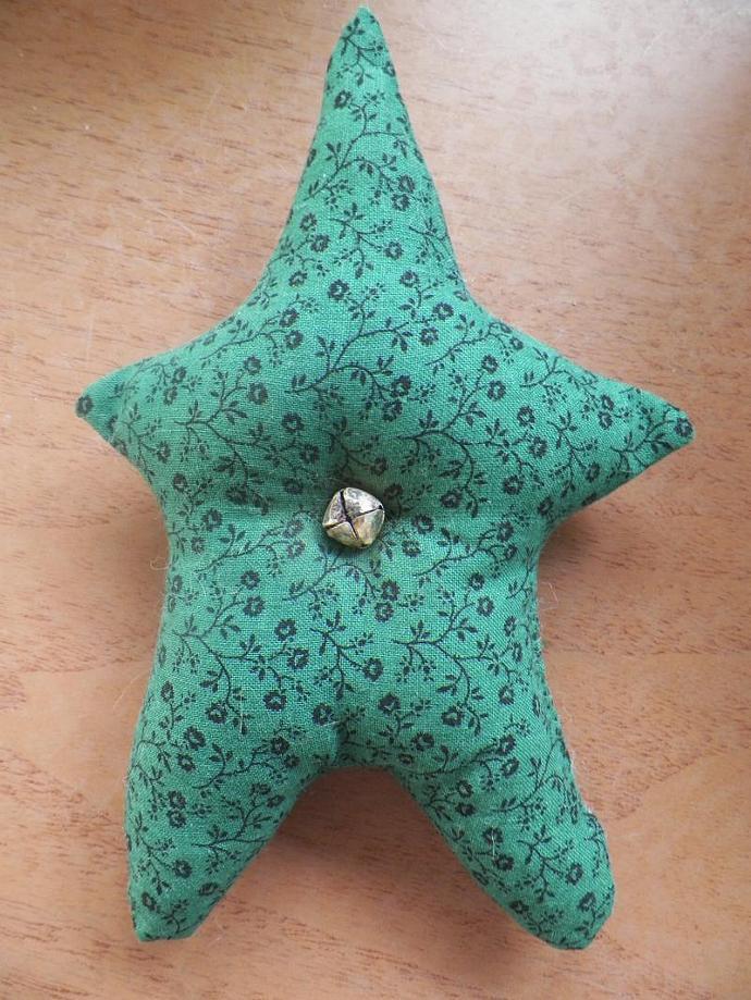 Dark Green Prim Star