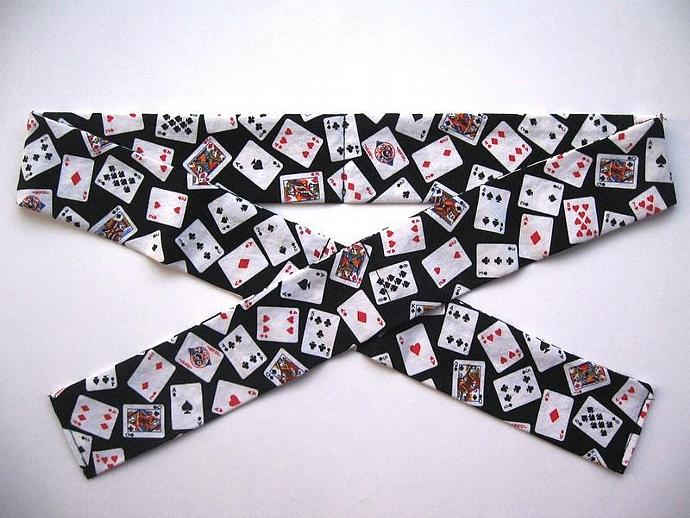 Playing Cards Neck Cooler, Cool Tie
