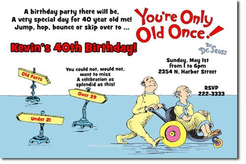 Over The Hill Birthday Party Invitations Download JPG Immediately