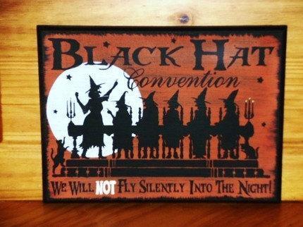 Witchcraft primitive witch Black hat convention Sisterhood sign Primitives