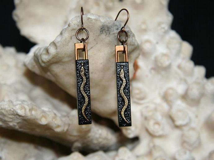 Slithering Snake Earrings