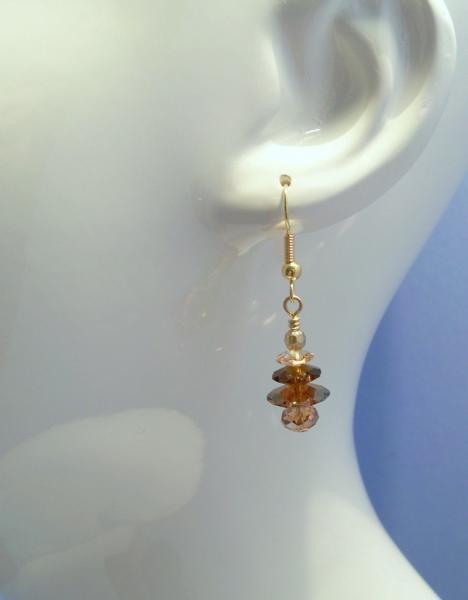 Earrings Golden Trees