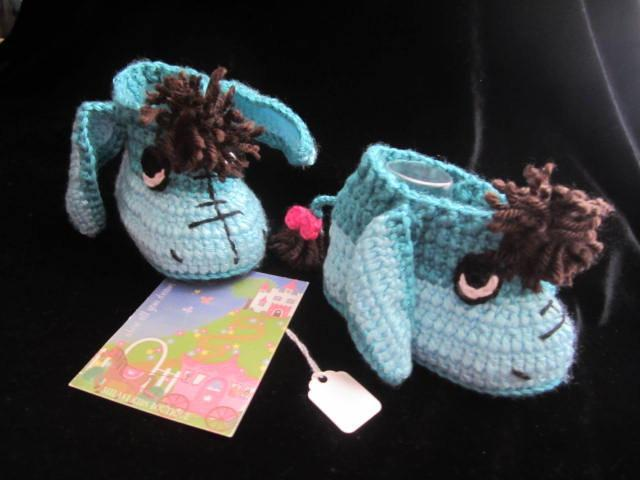 Crochet Baby Booties Crochet Donkey Booties By Milavikids On