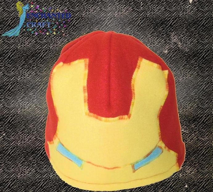 Fun fleece Iron Man Hat