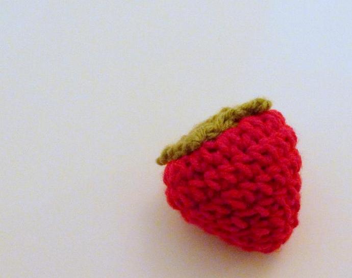 Amigurumi Strawberry Pdf Crochet Pattern Hgsdesigns