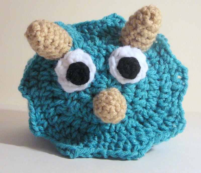 Triceratops Hat Pdf Crochet Pattern Newborn By Hgsdesigns On Zibbet