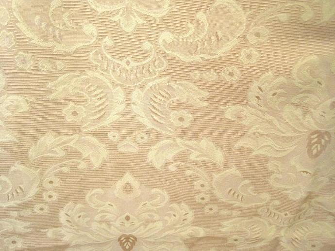 Damask Upholstery Fabric Gold Cotton Damask Anteeka