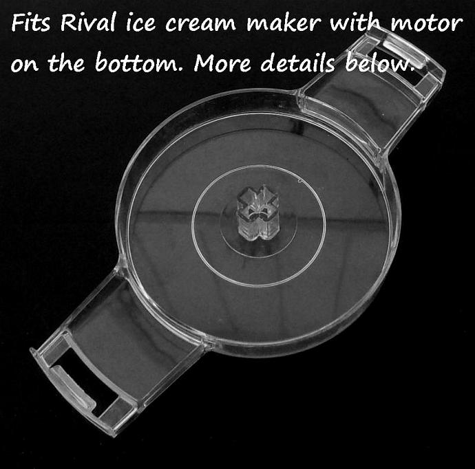 Rival Ice Cream Maker Replacement Part Model 8200 Part #22712