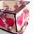 """Zelda"" Rose Glass Bead & Jonquil Crystal Bracelet"