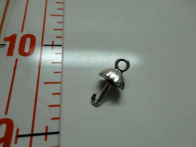 Umbrella Charm - Silver #001