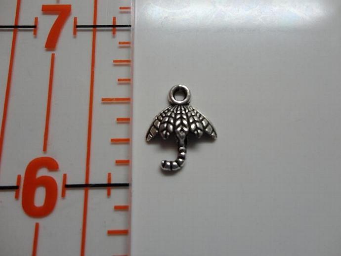 Umbrella Charm - Silver #002