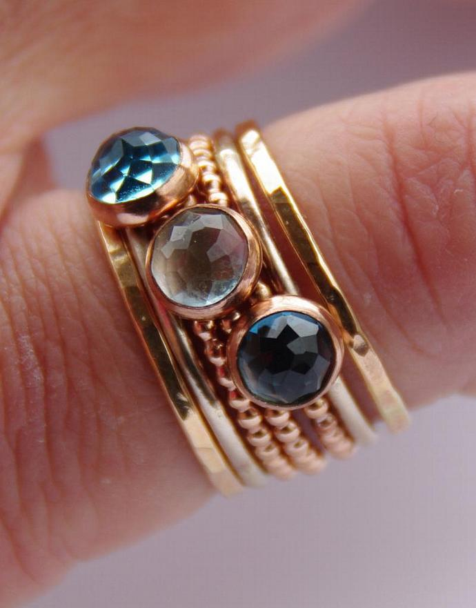 birthstone on best topaz gemstone products rings blue sky ring shop anniversary december stacking wanelo