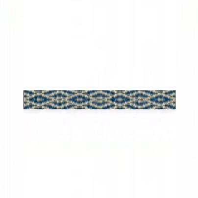 Loom Bead Pattern for SW Diamonds Thin Bracelet