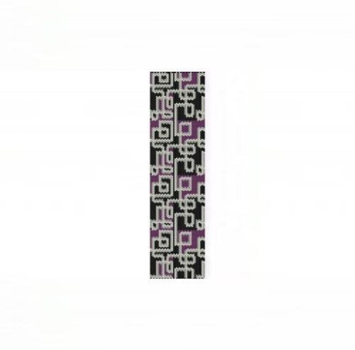 1 Drop Even Peyote Bead Pattern - Abstract #4 Cuff Bracelet