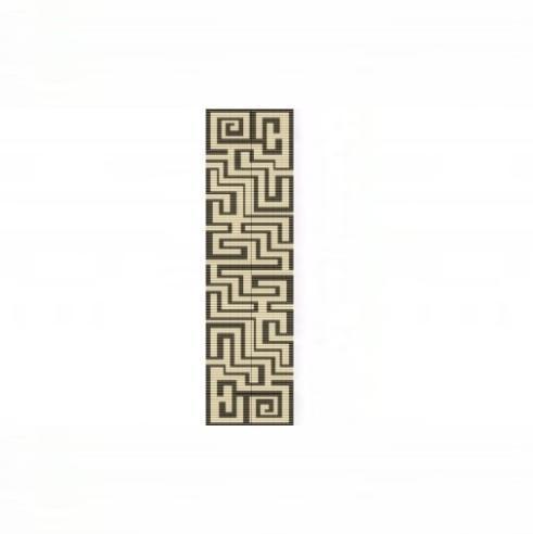Loom Bead Pattern - Aztec Maze Cuff Bracelet