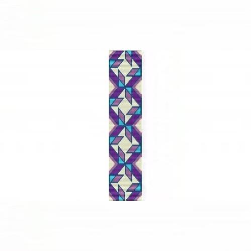 Loom Bead Pattern - NA Quilt Blocks Cuff Bracelet